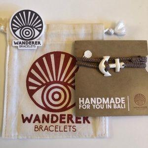 Wanderer Bracelets Anchor Wrap Rosy Brown
